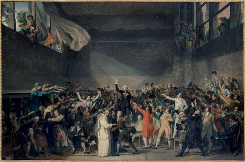 Association de malfaiteurs en vue de commettre des dégradations et des violences sur les personnes dépositaires de l'autorité publique - 20 juin 1789